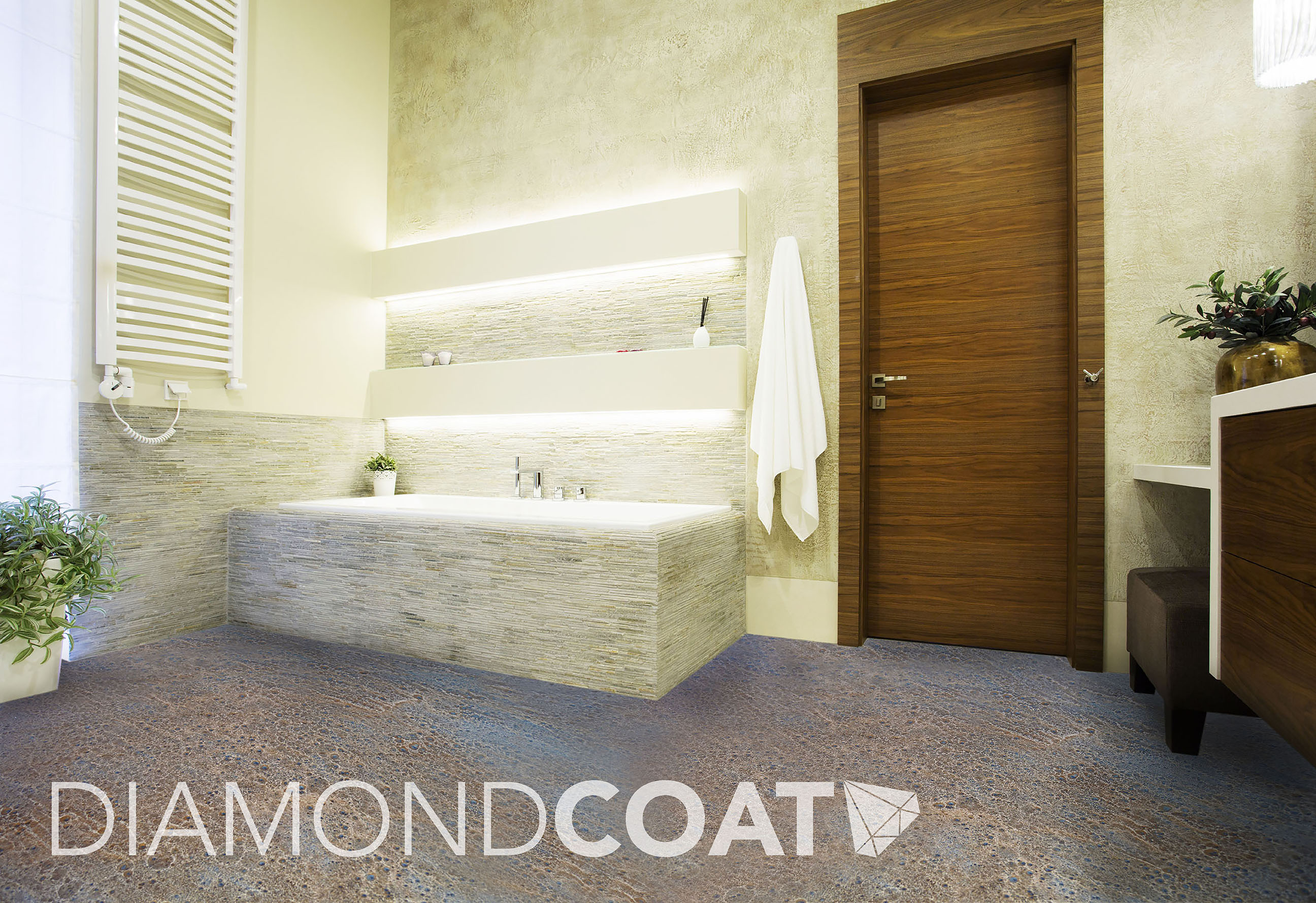 How to Design a Seamless (and Easy to Clean) Bathroom - Diamond Coat
