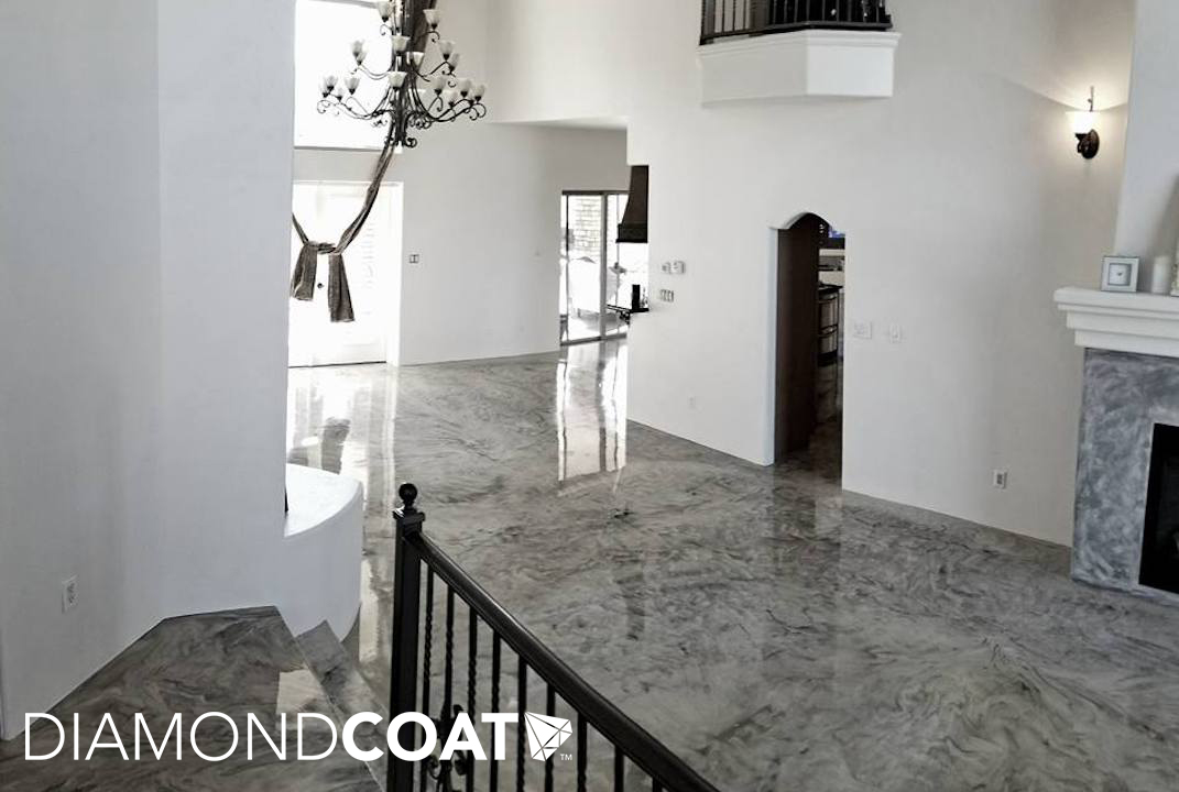 Is Epoxy a Safe Flooring Option for the Home? - Diamond Coat